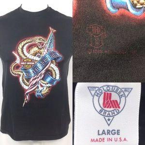 Other - Harley Davidson Biker Dont Tread On Me USA shirt